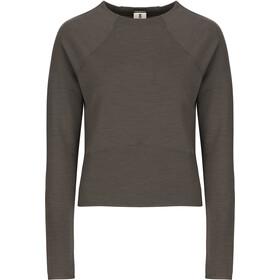 super.natural Super Crop Sweater Women, killer khaki 3d